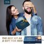 Kit Barba per Uomo, Kit Cura Barba Premium Crescita, Y.F.M. Set 8 in 1 per la cura della barba, Regalo di Natale per papà marit