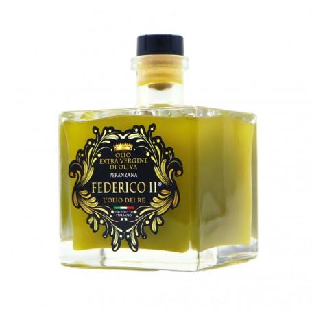Voglia Di Puglia Olio Extravergine Di oliva Italiano Monovarietale Peranzana  Tappo Fungo Versatore 500 ml