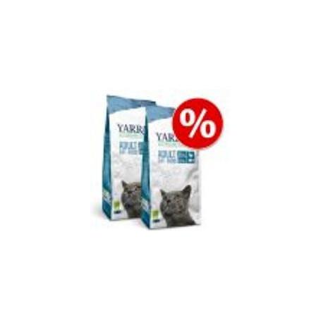 Set Risparmio! 2 x Yarrah Bio crocchette per gatti - Pollo bio (2 x 10 kg)