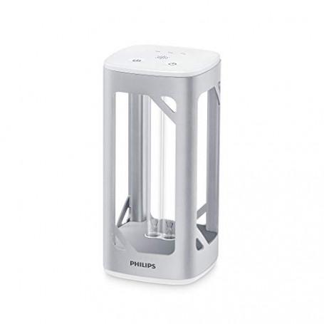 Philips Lampada da Tavolo UV-C per la Disinfezione di Ambienti, 24 W, Alluminio [Amazon Exclusive]