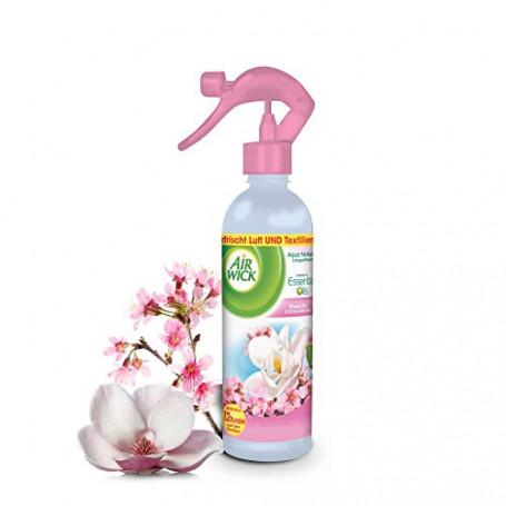 Airwick 37374, Spray Odorizzante, Magnolia e Fiore di Ciliegio, 345 ml, Pacco da 4
