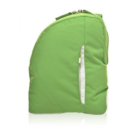 Zaino Monospalla Invicta, BackPack B-color, 5 Lt, Verde, Casual & Tempo Libero