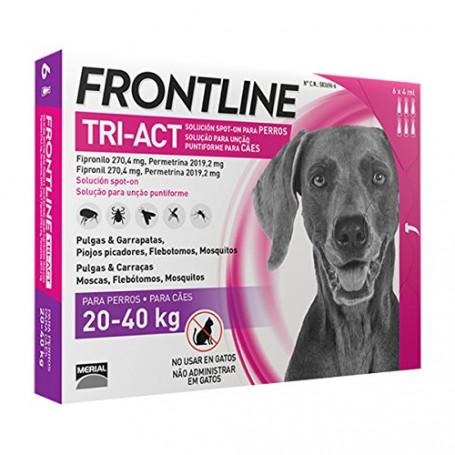 Frontline Tri-Act 6 Fialette Tra 20 e 40 KG