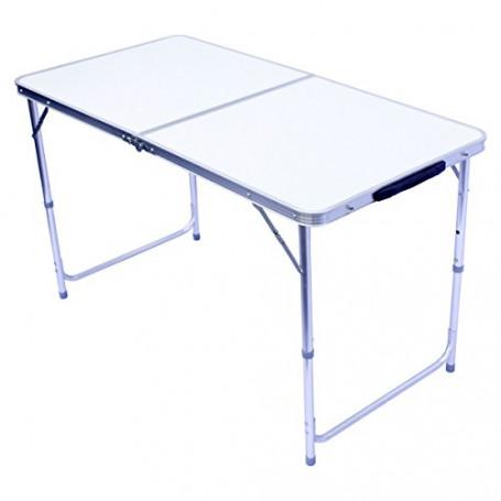 Tavolo pieghevole da campeggio tavolo pieghevole tavolo hswa pieghevole tavolo da giardino 120 x 60 cm
