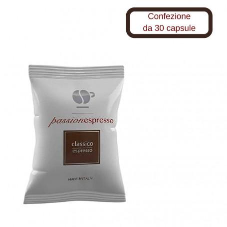 Lollo Caffe' Compatibile Nespresso Miscela Classica 30 Capsule