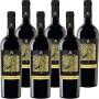 Primitivo di Manduria DOP | Masseria Pietrosa | Confezione da 6 Bottiglie da 75 Cl | I Vini Rossi della Puglia | Idea Regalo