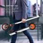 Monopattini Elettriciper Adulti Batteria a Lungo Raggio 350W, Design Facile da Trasportare e Ripiegare, E-Scooter Ultraleggero d